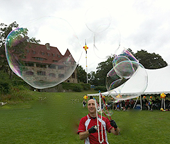 Giant Outdoor Bubbles